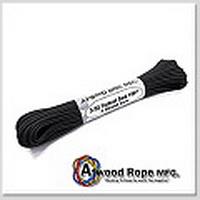 Atwood 戰術版黑色(細)100呎/2.4mm/4條蕊心