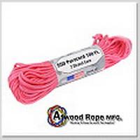 ATWOODROPE傘兵繩-100英呎(亮粉紅)