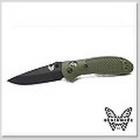 Benchmade 551BKSN-S30V Griptilian 支配者 S30V 鋼黑刃棕色柄折刀