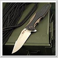 ZT Rick Hinderer 0393限量棕鈦G10柄快開折刀(S35VN鋼)