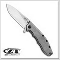 Zero Tolerance 0562TI Hinderer Frame Lock Knife Titanium