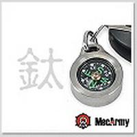 MecArmy 指北針項鍊(鈦)